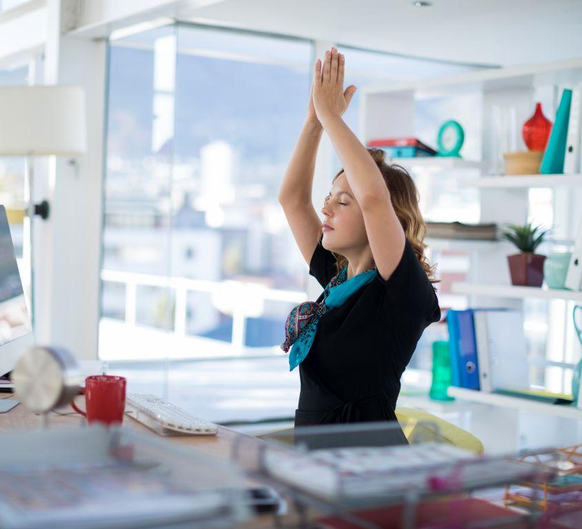 Desk Yoga Workshop