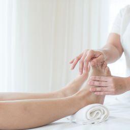 Workplace massage Foot massage